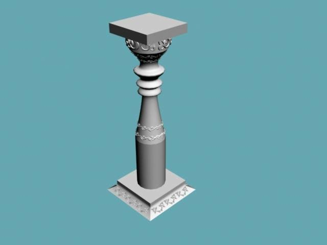 column 3d 3ds