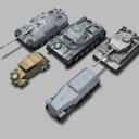 5 German WW2 Vehicles