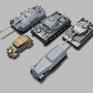max 5 german ww2 vehicle