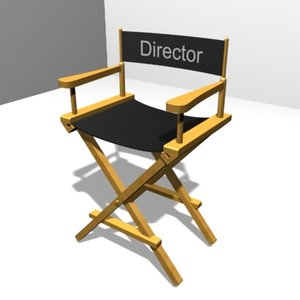 director chair 3ds