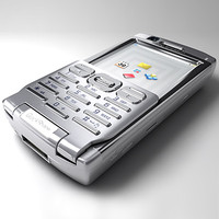 3d sony ericsson p990 mobile phone