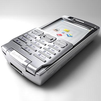 3d sony ericsson p990 mobile phone
