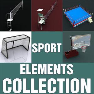 max sport elements basketball hoop