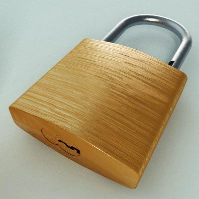 3ds padlock metal