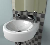 3dsmax small basin