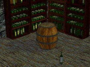 3d x drunk barrel