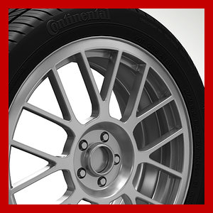 wheel rim tyre brembo brake 3ds