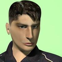 vlada character 3d model