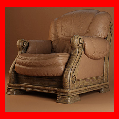 max leather armchair 1