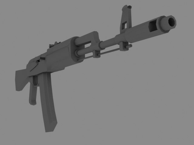 max russian assault rifle m