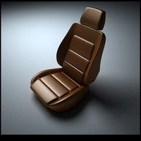 car seat 3d 3ds