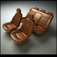 3d car seats