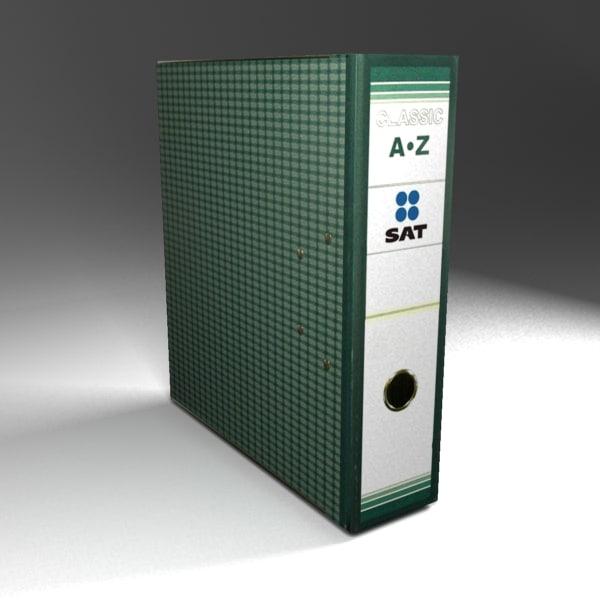 free file filebox 3d model