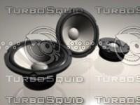 3d max speaker drivers