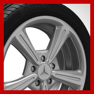 3d model wheel rim tyre brembo brake
