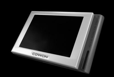 cowon d2 player 3d model