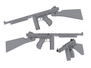 wwii thompson smg max
