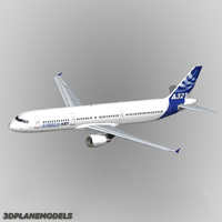 Airbus A-321 Airbus house livery