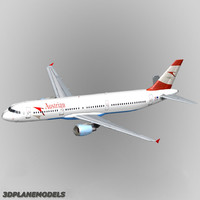 airbus a321 austrian airlines 3ds