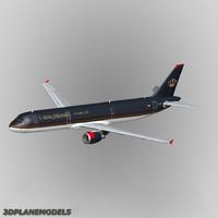 Airbus A-321 Royal Jordanian Airline