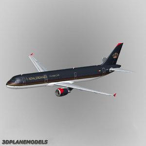 airbus a321 royal jordanian max