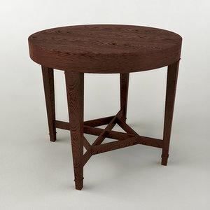 drum table 3d max