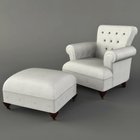 Victorian_Tufted_Chair.rar
