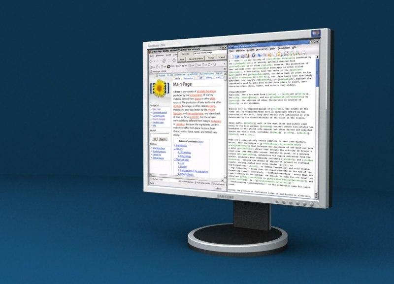 maya samsung 204b lcd monitor