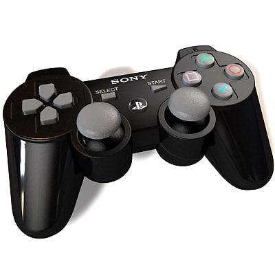 playstation 3 joypad controller 3d max
