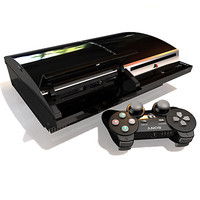 Sony Playstation 3 Console & Joypad