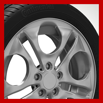 wheel rim tyre brembo brake 3d 3ds