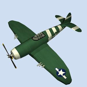 thunderbolt fighter republic p-47 max free
