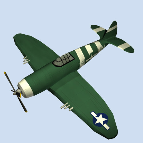 thunderbolt fighter republic p-47 max free