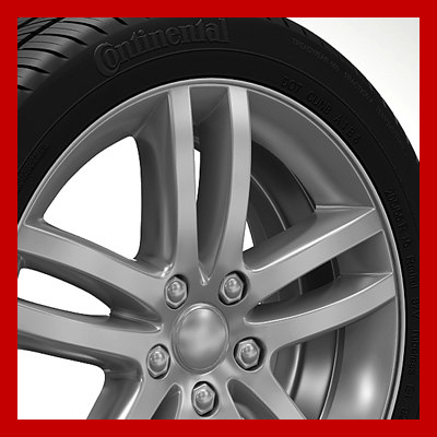 3ds max wheel rim tyre brembo brake