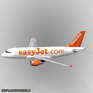airbus a319 easyjet a-319 max