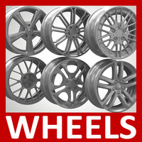 Wheels, Rims and Tyres Pack