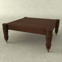 3d model west indies cocktail table
