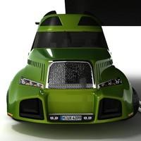 3d model concept truck 2009