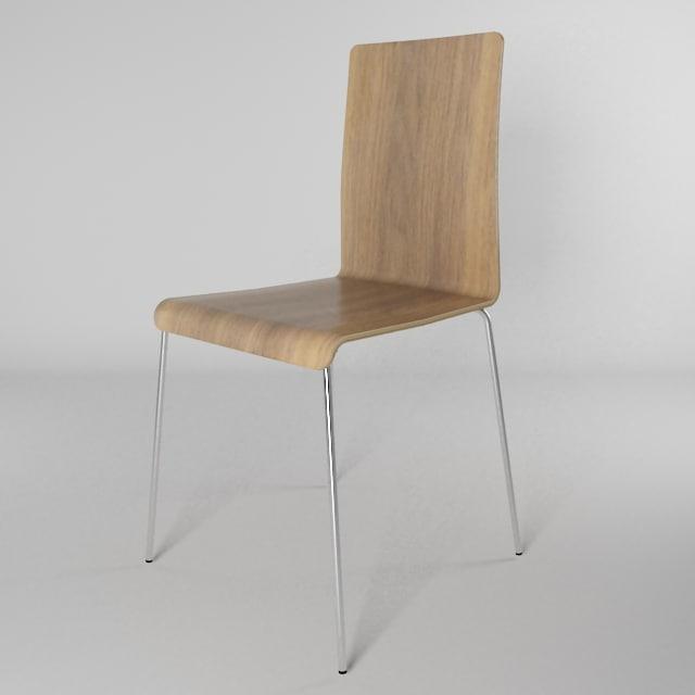 ilva chair s 3d max