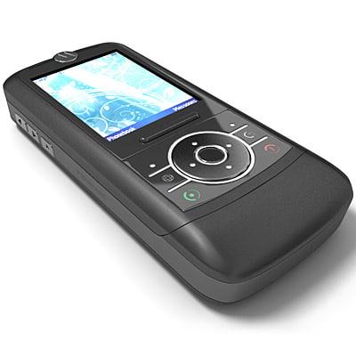 3dsmax motorola rizr z3 mobile phone