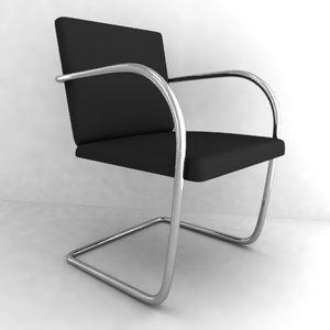 chair armchair obj