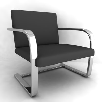 chair armchair 3ds