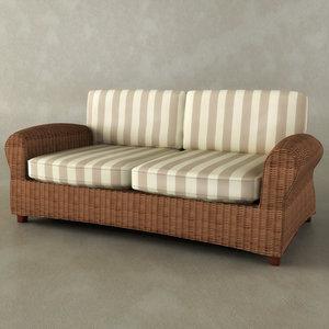 ursa major sofa 3d model