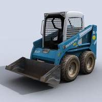 3ds max skidsteer loader