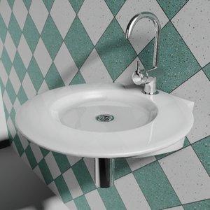 3d model of sink 3 5