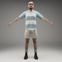 axyz rigged characters 3d fbx