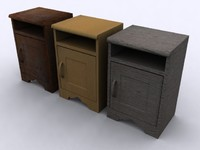 Bed Side Desk (3 Different Textures)
