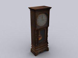 max grandfather clock