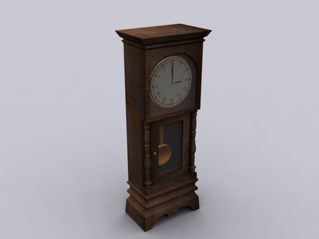 max grandfather clock
