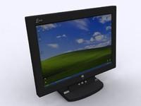 Flat Screen PC Monitor